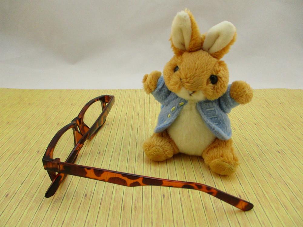 膠框平光眼鏡-6337
