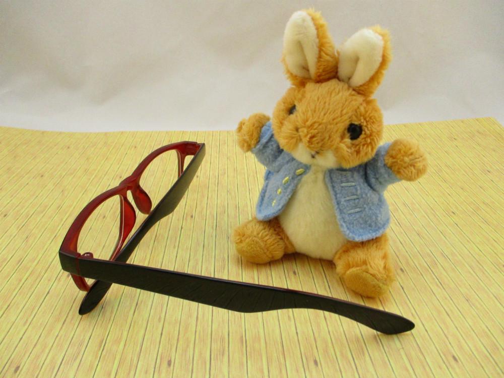 膠框平光眼鏡-2727雙色