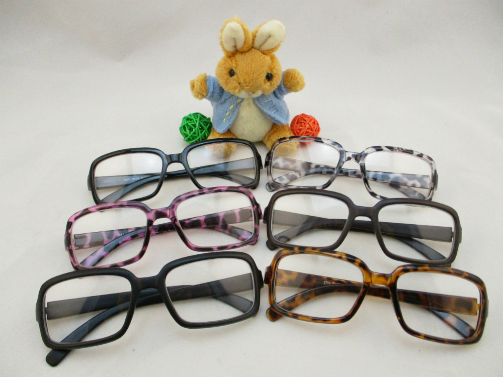 膠框平光眼鏡-271