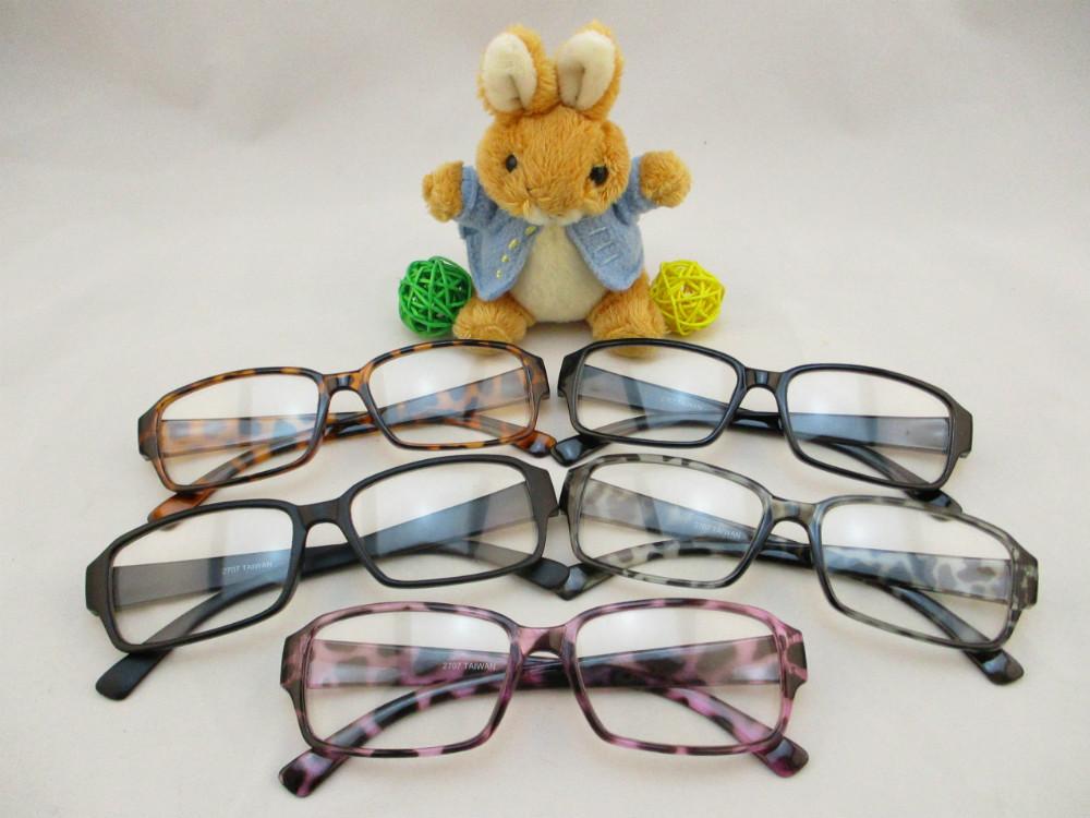 膠框平光眼鏡-270