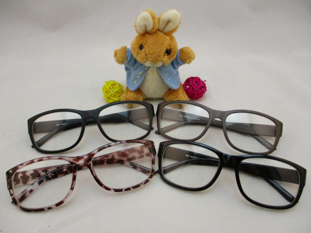 膠框平光眼鏡-804