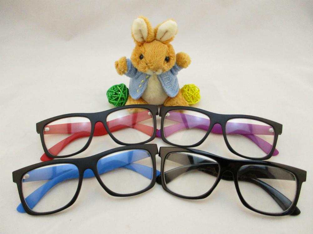 膠框平光眼鏡-237