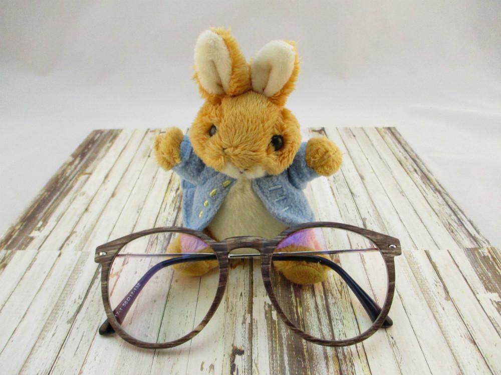 金屬韓版平光眼鏡-3217