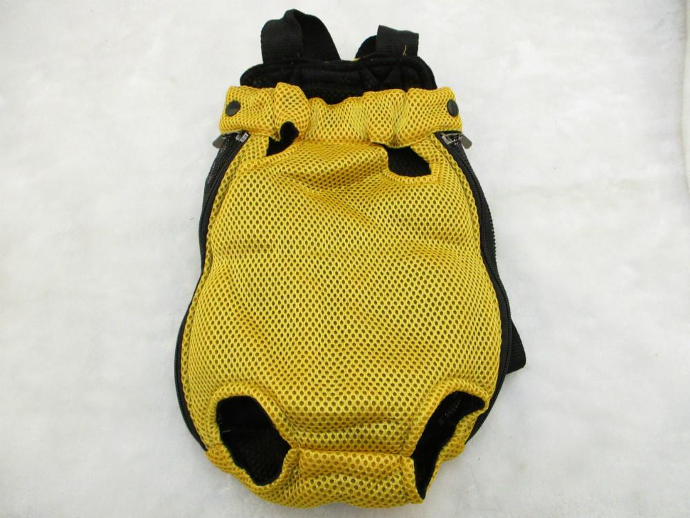 前背包-黃網布