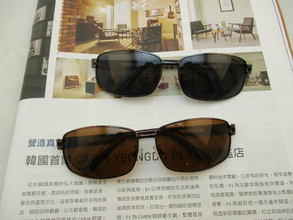 金屬偏光眼鏡-354