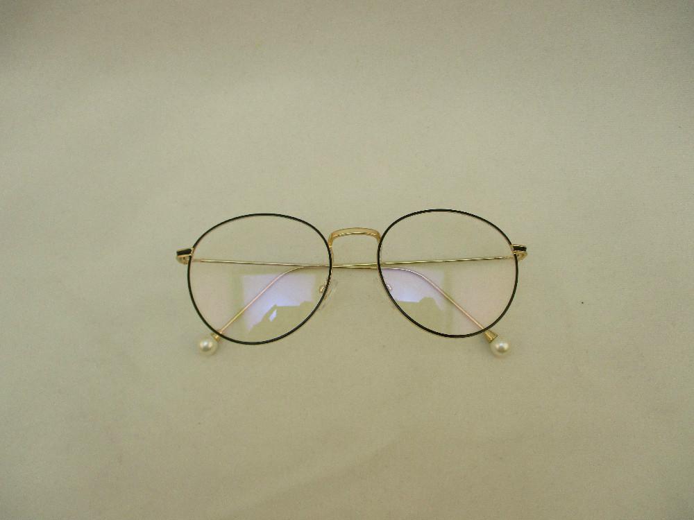 金屬韓版平光眼鏡-1773