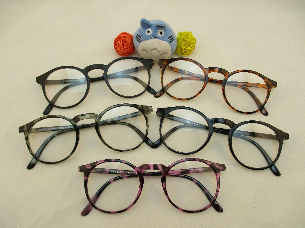 膠框平光眼鏡-275