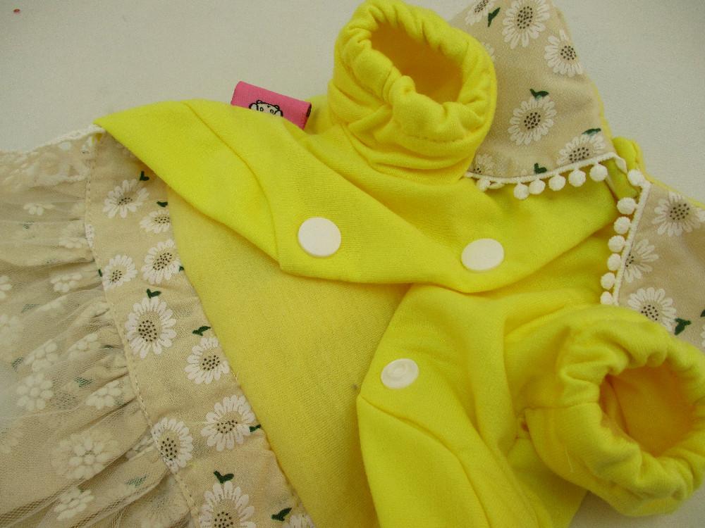 日系寵物衣-蕾絲小兔裙