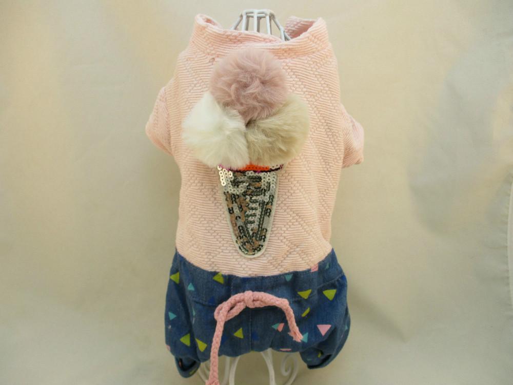 貓狗寵物服飾-冰淇淋
