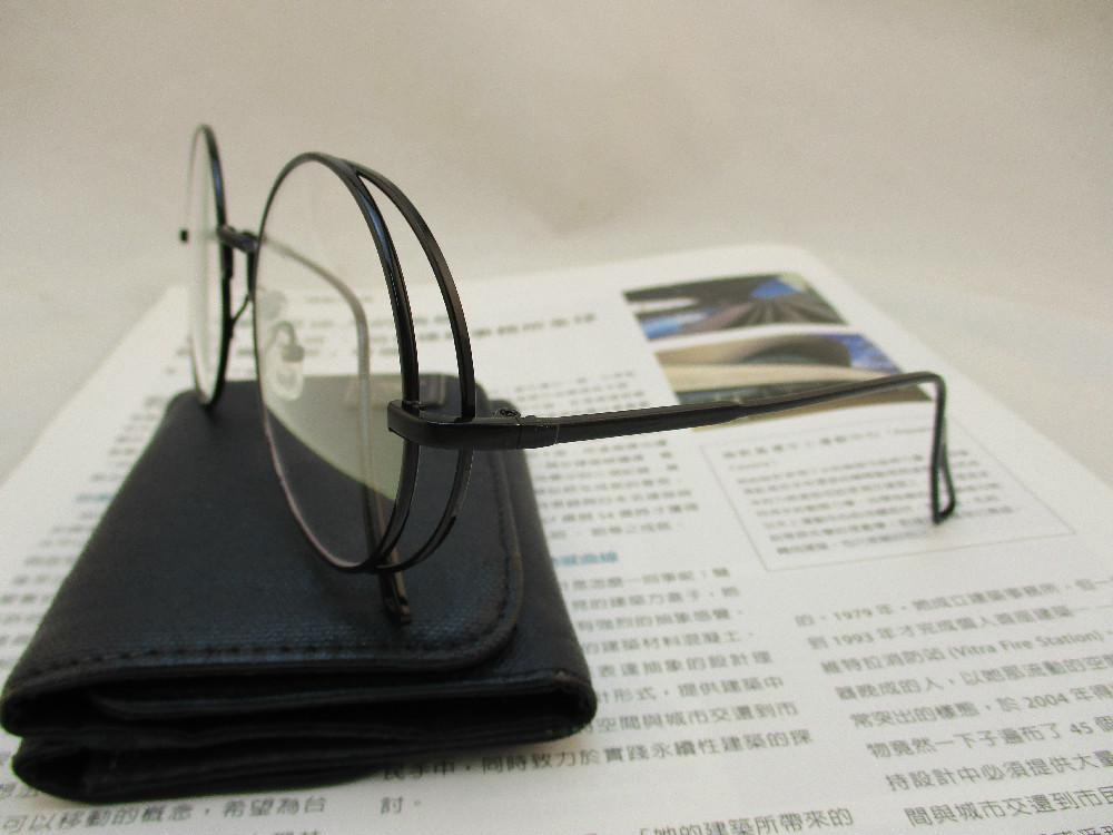 金屬韓版平光眼鏡-3430