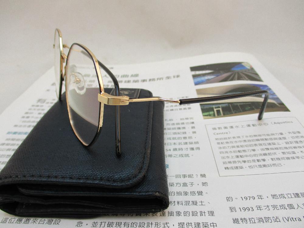 金屬韓版平光眼鏡-3512