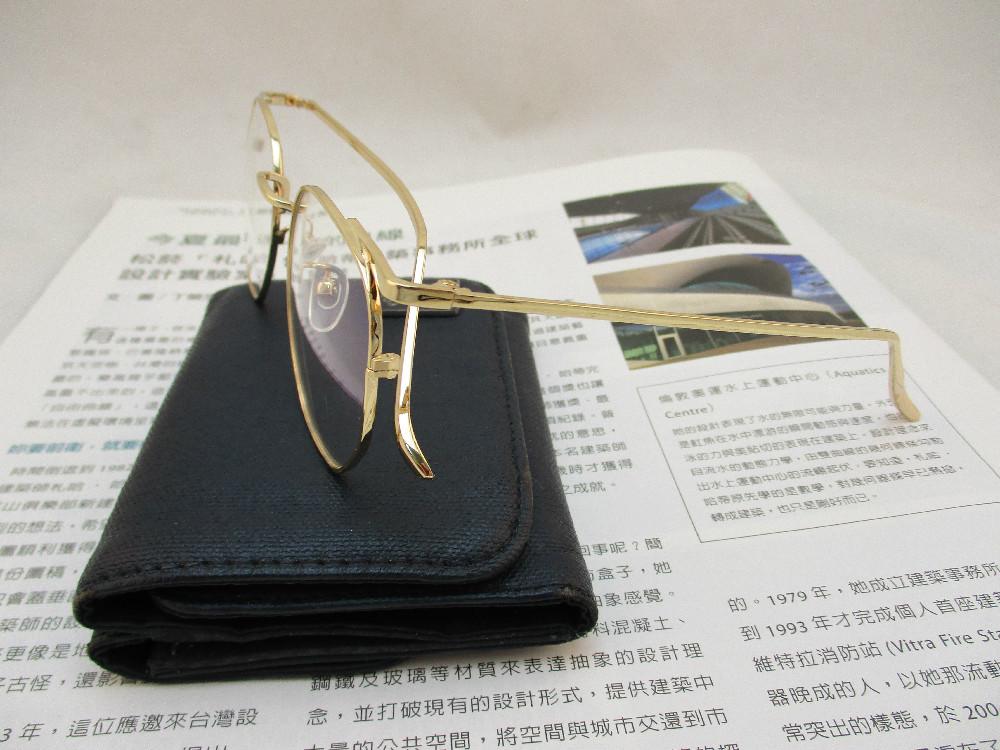 金屬韓版平光眼鏡-8928