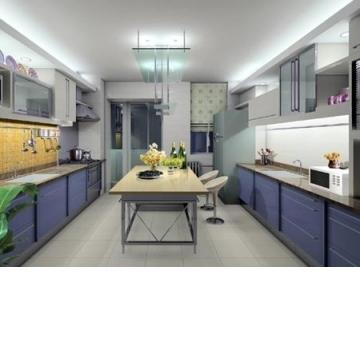 歐美風廚房裝潢範例
