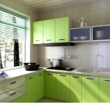 清新風廚房裝潢範例