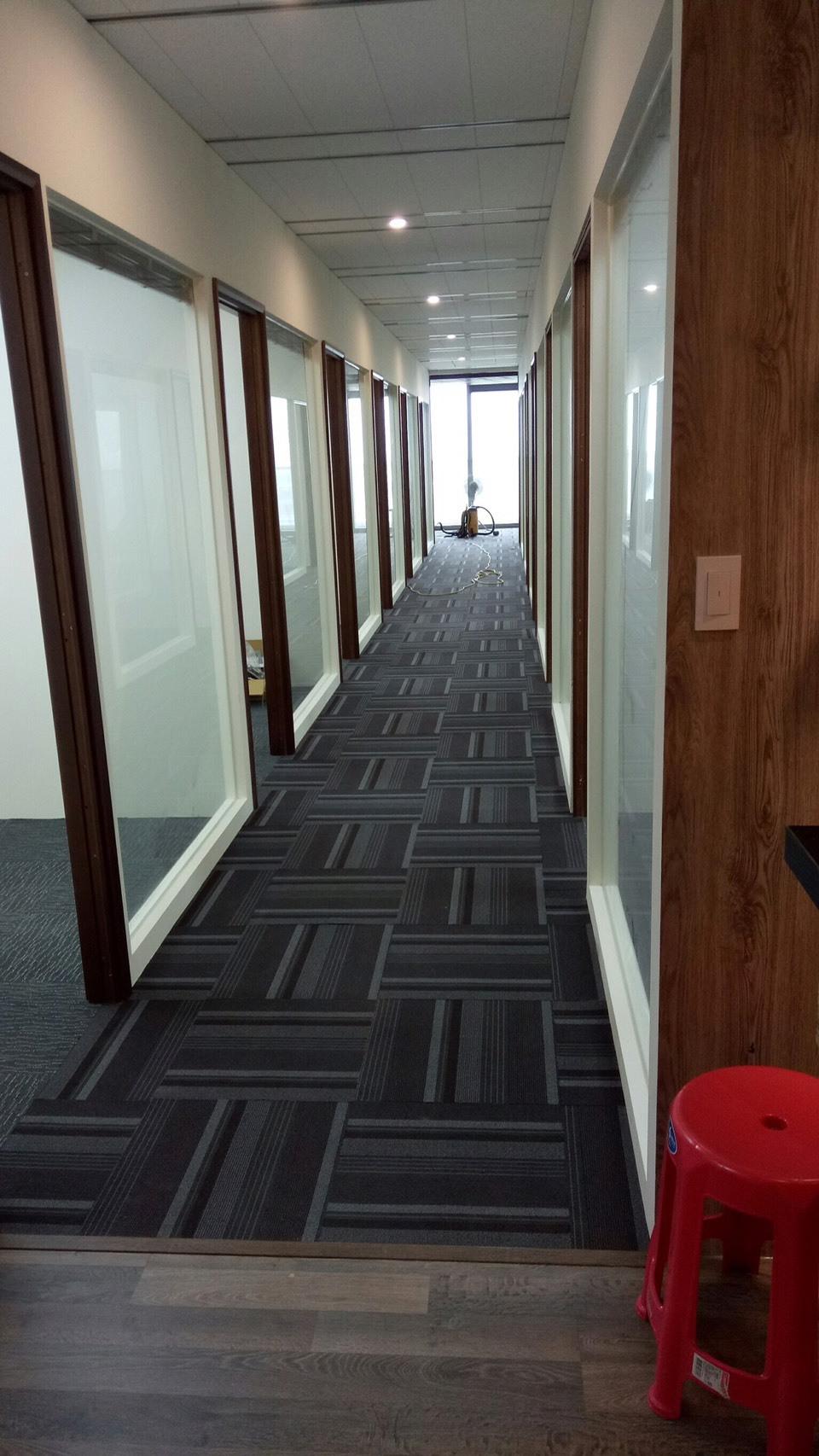 辦公大樓-清潔前