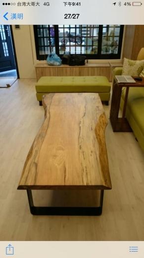 原木桌系列-5