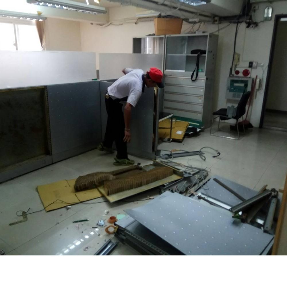 新北辦公室拆除