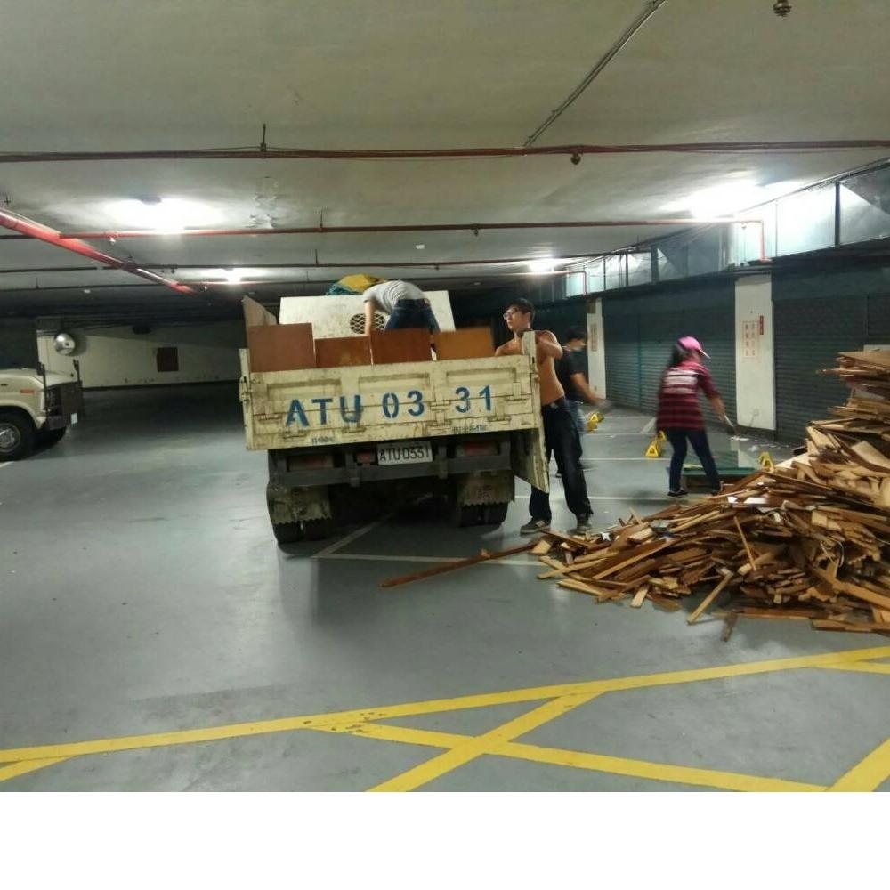 新北廢木材清運
