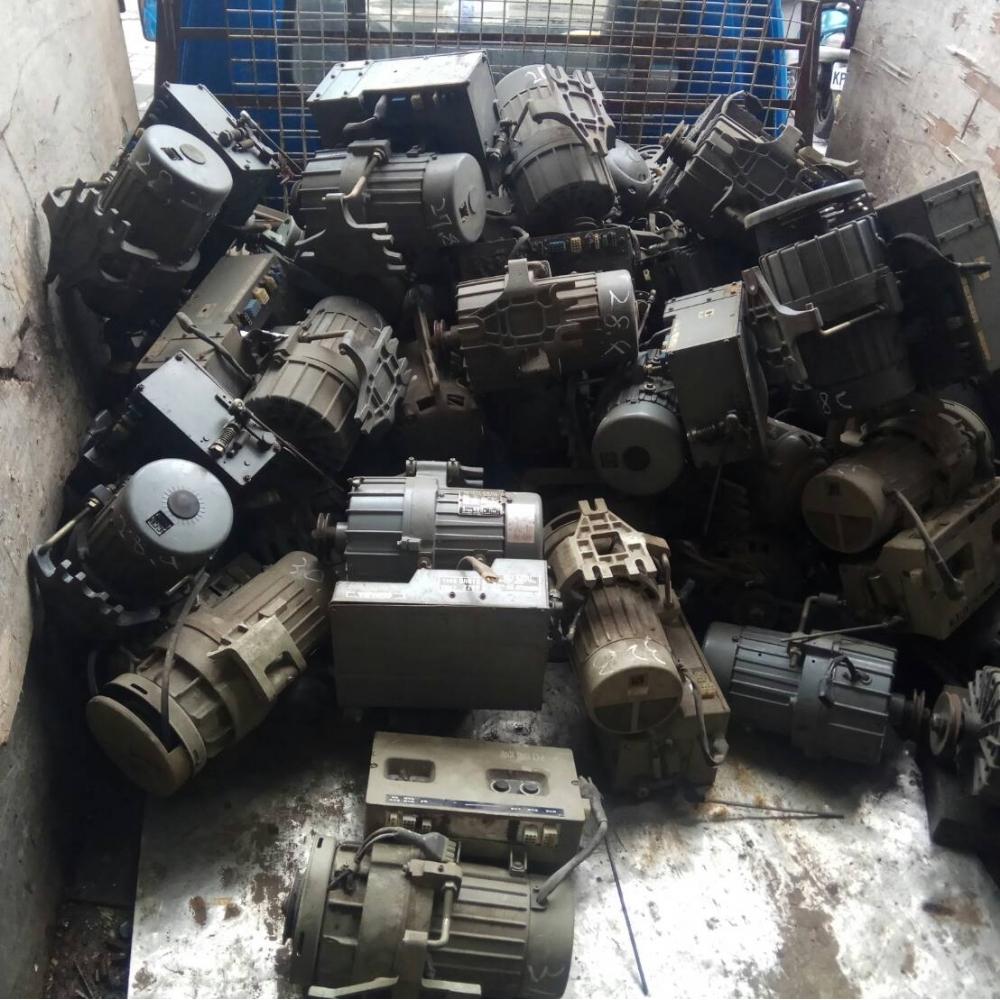 台北成衣廠馬達回收
