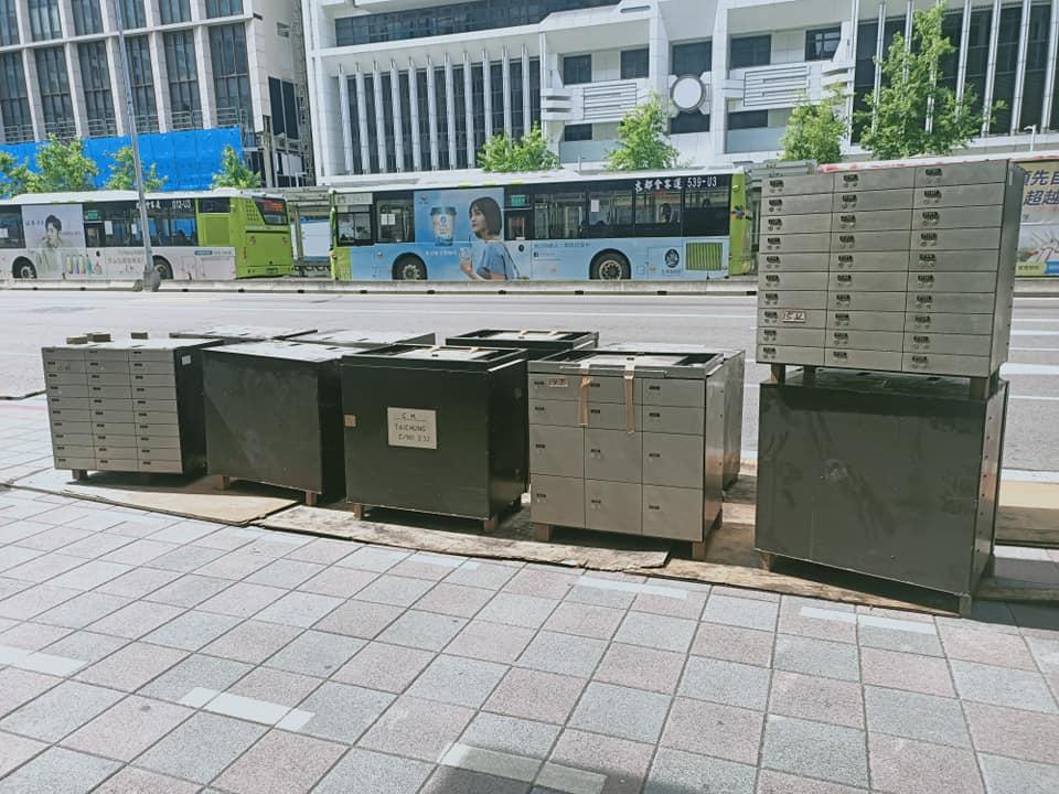 台北市某銀行拆除  廢鐵,保管箱,金庫