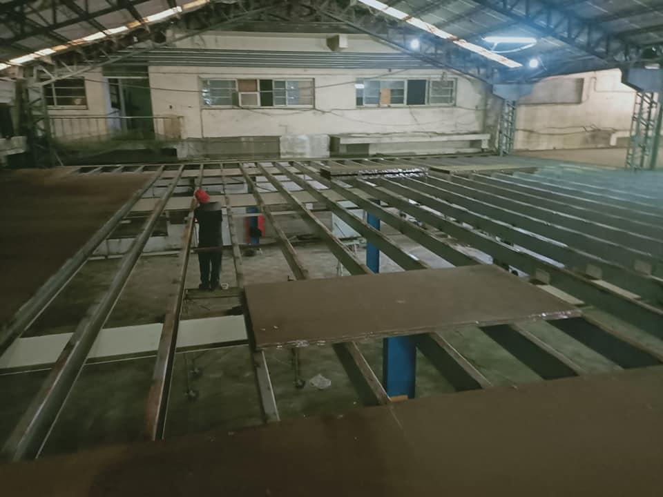 三興工業區拆除作業