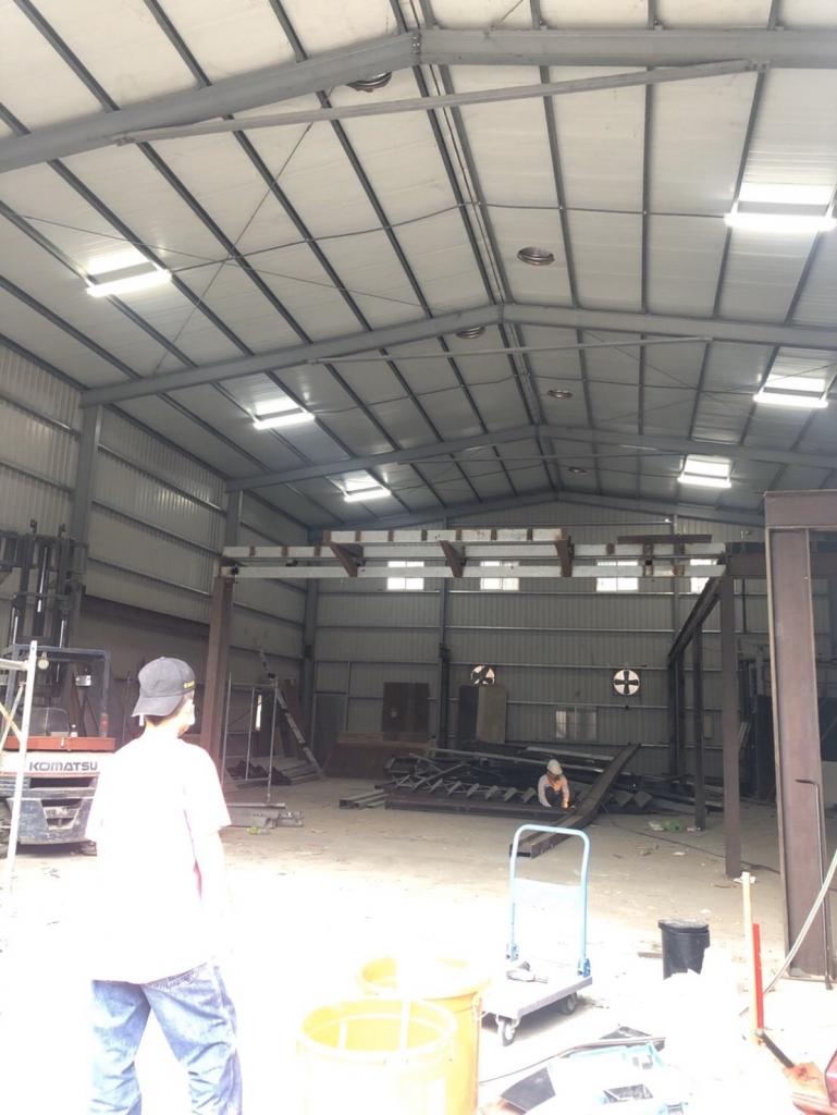 新北工廠拆除