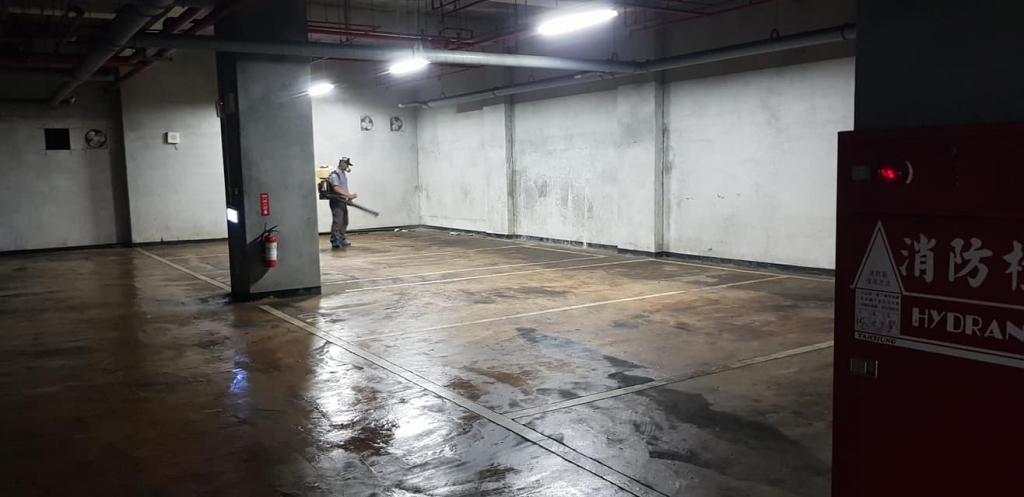 新北除蟲-地下車場除蟲