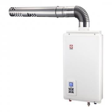 數位平衡式熱水器
