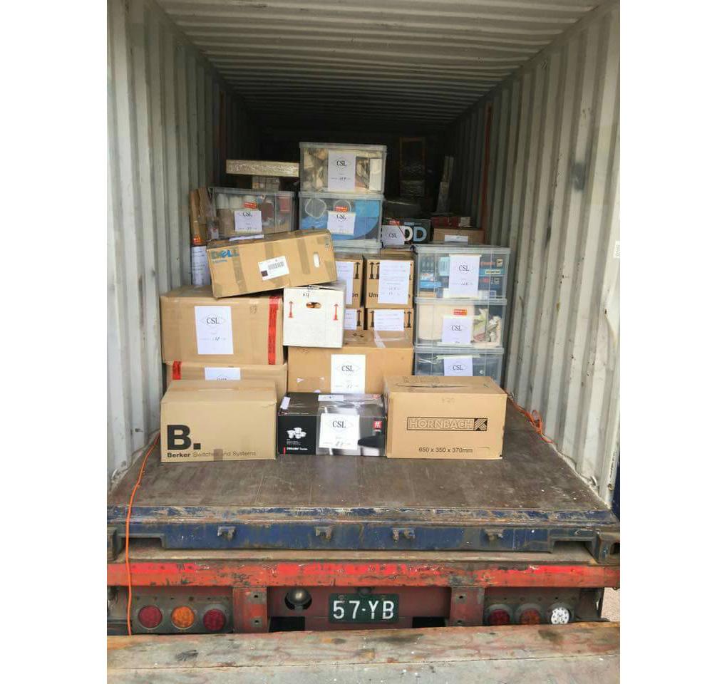台南貨櫃運輸