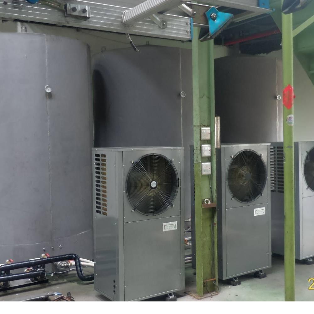 熱泵熱水系統-施工