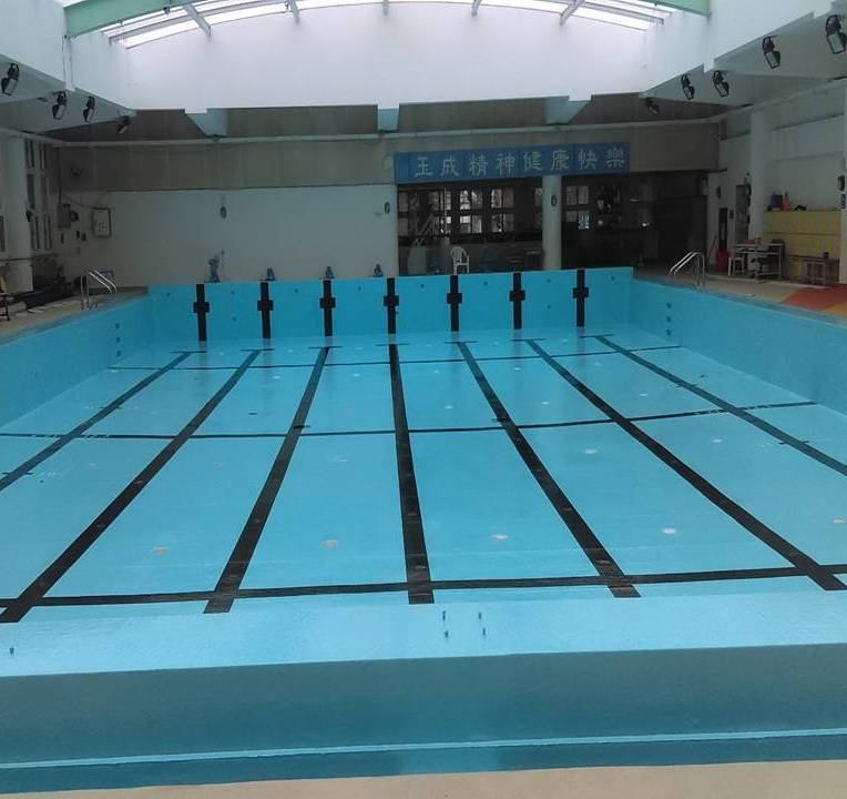 游泳池-FRP防水防漏施作