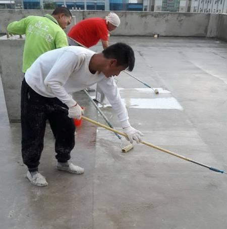 屋頂防水-地坪FRP施作