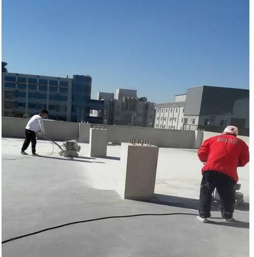 屋頂防水-研磨處理
