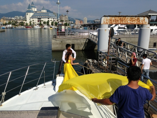 海上婚紗攝影/節目錄影合作