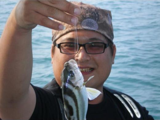 北海岸海釣/夜釣白帶魚/夜釣小管