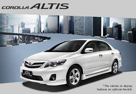 Toyota/豐田 Altis