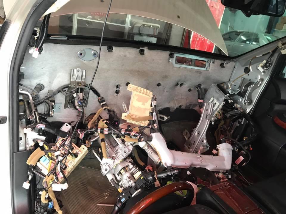 RX350蒸發器拆裝