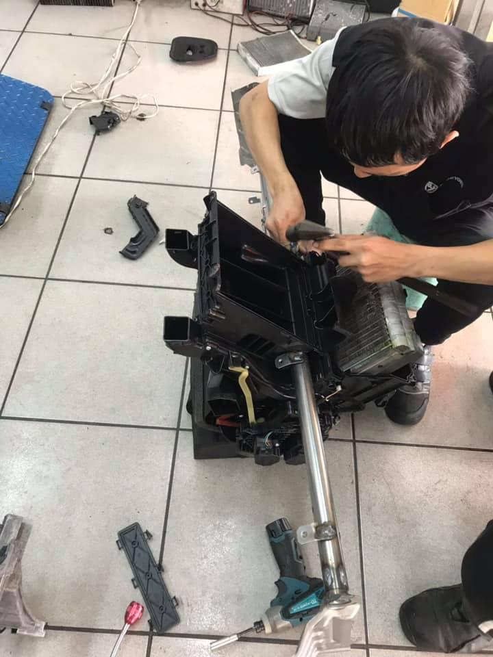 S60  蒸發器更換