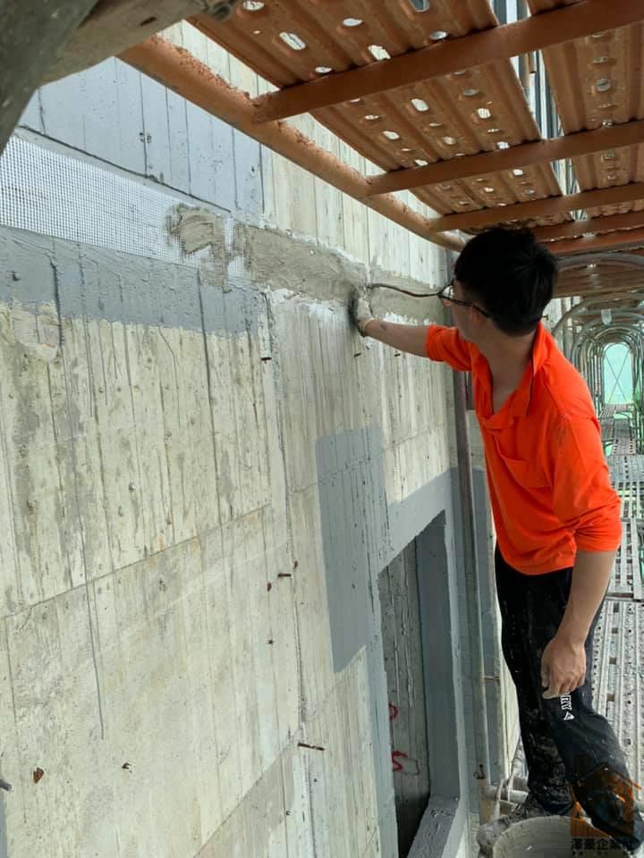 台南新建大樓防水工程