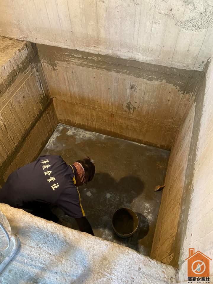 高雄防水施工-電梯基坑