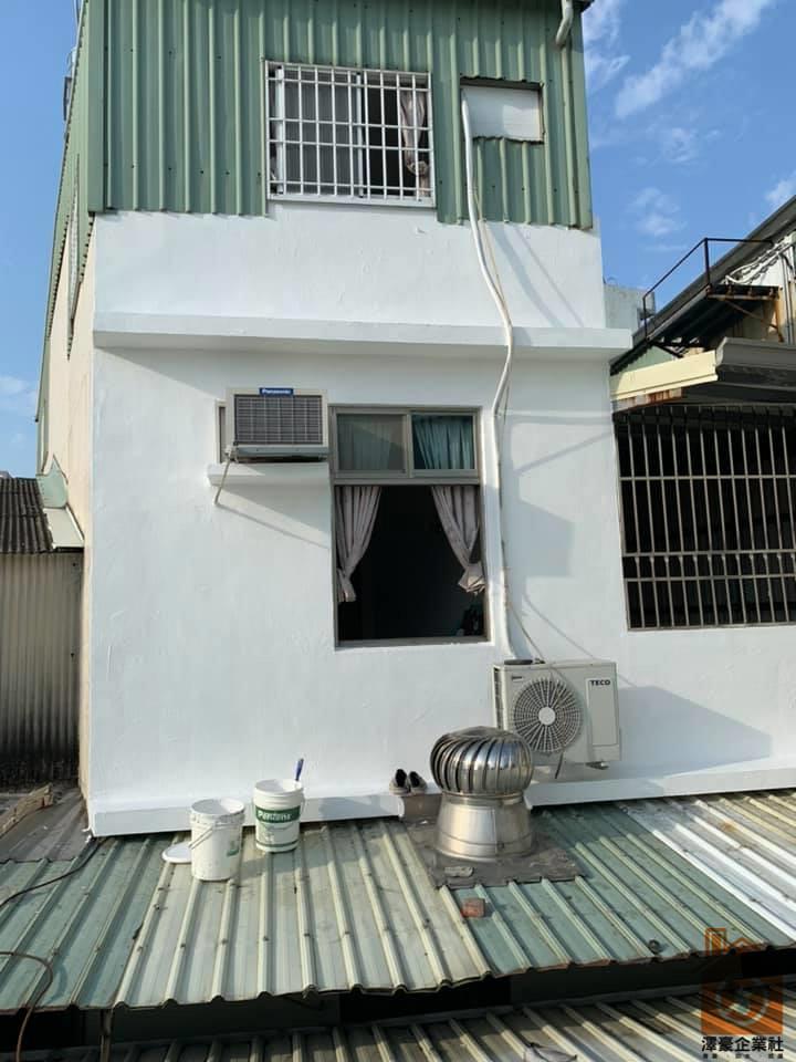 台南外牆防水隔熱工程