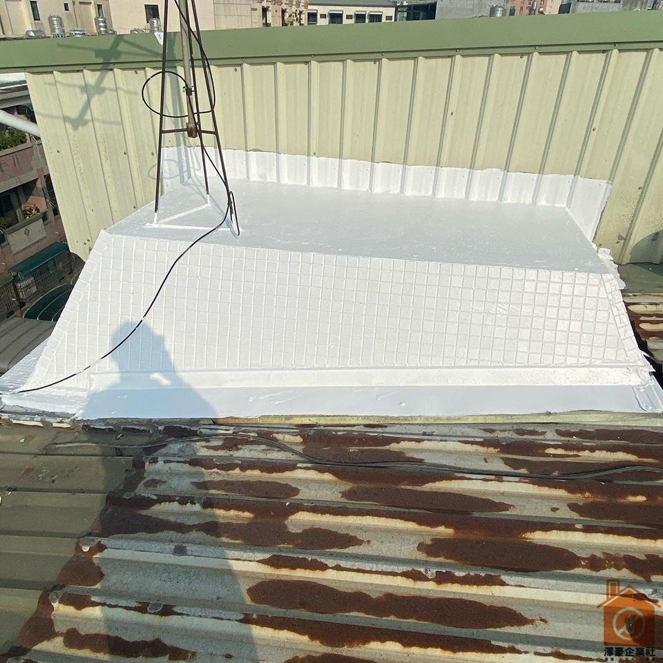 台南屋頂防水隔熱工程