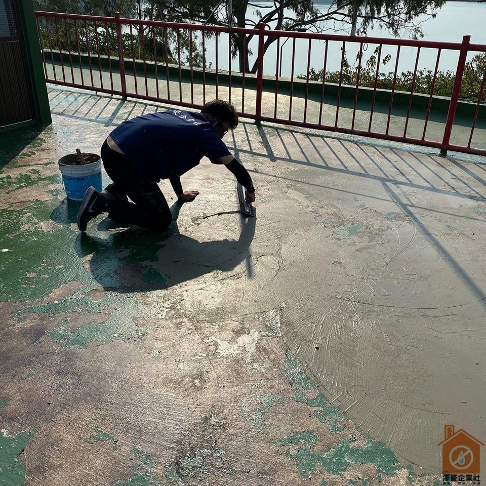 台南頂樓防水熱工程