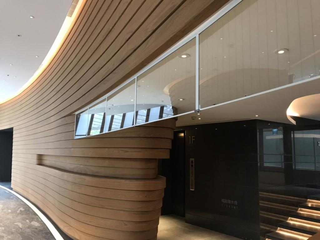 固定式全鋁框防煙垂壁-台北市南港區-新美齊物商辦大樓