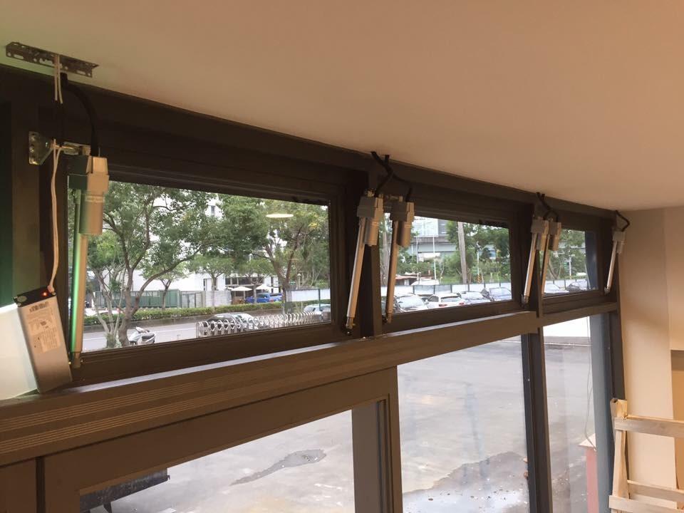 自然排煙窗電動螺桿-台北市內湖區AUDI遠創中心