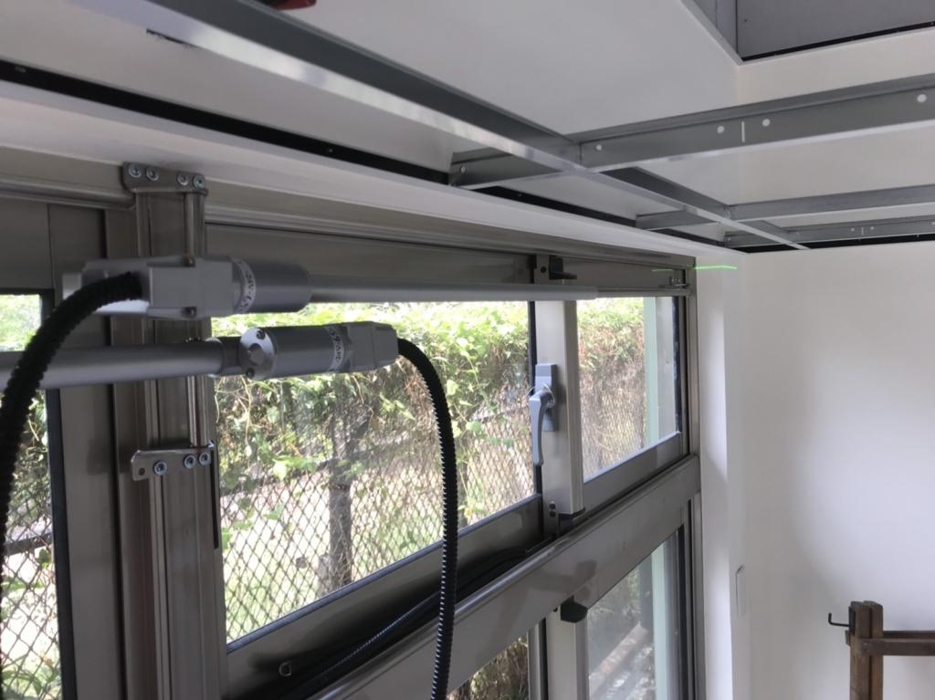 自然排煙窗電動螺桿-台南市新化區-新化療養院