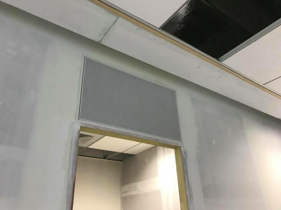 室內自然排煙窗-台北市信義區-遠雄金控