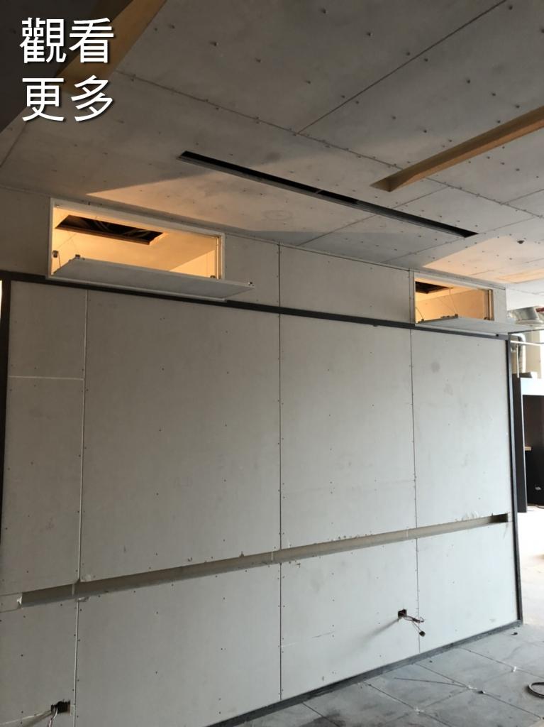 室內自然排煙窗-台北市松山區-南京東路某商業大樓