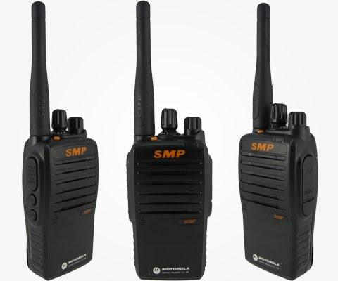 (停產)上海摩托羅拉 SMP-308 免執照無線電對講機