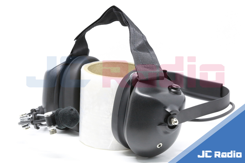 航空抗噪耳罩式耳機麥